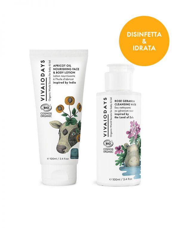 vivaiodays prodotti biologici certificati cosmos organic bundle disinfetta e idrata